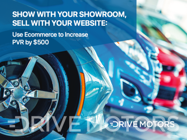 Show with Your Showroom Drive Motors Ebook