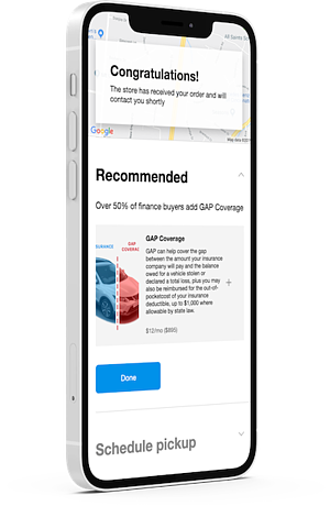 Modal Checkout on iPhone