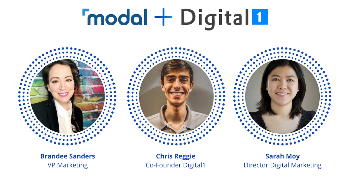 Modal Fireside Chat with Digital 1 Group